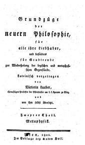 Metaphysik: Volume 2