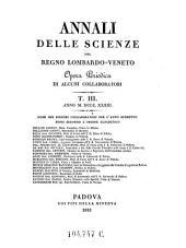 Annali Delle Scienze Del Regno Lombardo-Veneto Opera Periodica Di Alcuni Collaborati: Volume 22