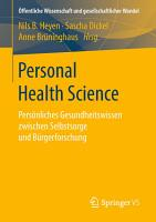 Personal Health Science PDF