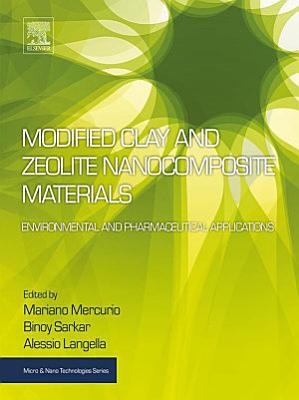 Modified Clay and Zeolite Nanocomposite Materials