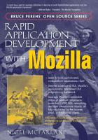 Rapid Application Development with Mozilla PDF