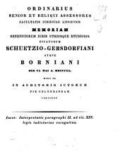 Interpretatio paragraphi II, ad tit. XIV, legis iudiciariae recognitae