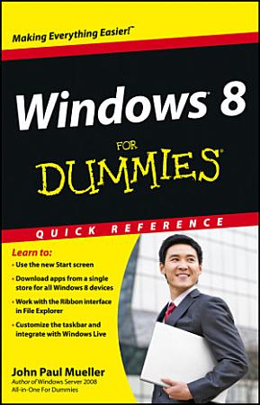 Windows 8 For Dummies Quick Reference PDF
