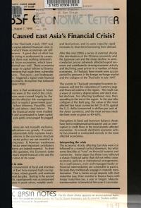 What Caused East Asia s Financial Crisis