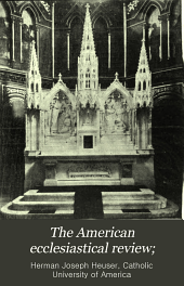 The American Ecclesiastical Review: Volume 16