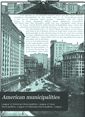 American Municipalities: Accounting, Paving, Street Cleaning, Sewers and Sewage, Municipal Law, Volume 7, Issue 1