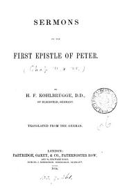 Sermons on the first Epistle of Peter [chap.1-] (4).