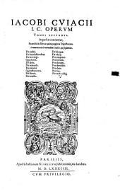 Opera, quae de jure fecit: Volume 2