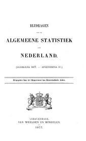 Bijdragen tot de algemeene statistiek van Nederland: Gewone verkiezingen voor de Staten-Generaal, de Provinciale Staten en de Gemeenteraden. 1877, afl. IV