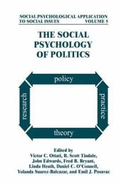 The Social Psychology of Politics