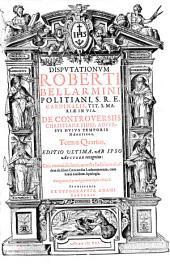 Disputationes de controversiis Christianae fidei: Volume 4