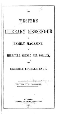 The Western Literary Messenger PDF