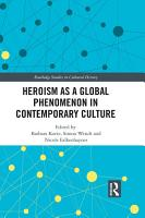 Heroism as a Global Phenomenon in Contemporary Culture PDF