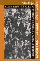 From Black Power to Black Studies PDF