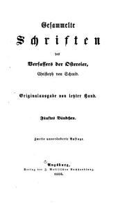 Gesammelte Schriften des Verfassers der Ostereier: Bände 5-6