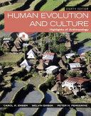 Human Evolution and Culture PDF