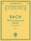 The Well Tempered Clavier   For the Piano PDF