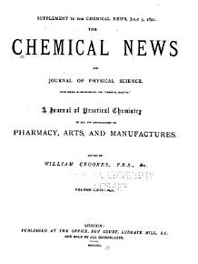 The Chemical News and Journal of Physical Science PDF