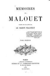 Mémoires de Pierre-Victor Malouet: Publiés par son petit-fils le Baron Malouet. 2 voll
