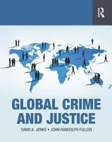 Global Crime and Justice PDF