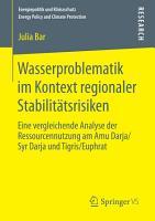 Wasserproblematik im Kontext regionaler Stabilit  tsrisiken PDF