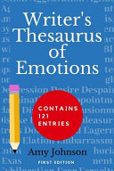 Writer's Thesaurus of Emotions