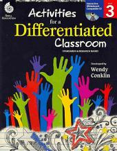Activities for a Differentiated Classroom, Level 3