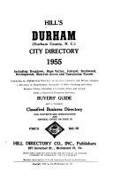 Hill's Durham (Durham County, N.C.) City Directory