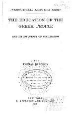 The Education of the Greek People and Its Influence on Civilization PDF