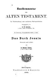 Das Buch Jesaia: Teil 3,Band 1
