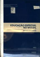 Educa    o especial no Brasil PDF