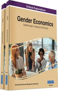 Gender Economics  Breakthroughs in Research and Practice PDF