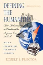Defining the Humanities