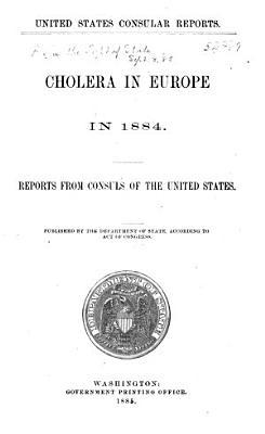 Cholera in Europe in 1884