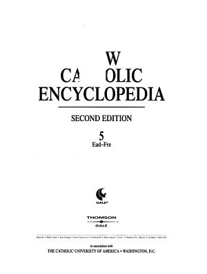 New Catholic Encyclopedia: Ead-Fre