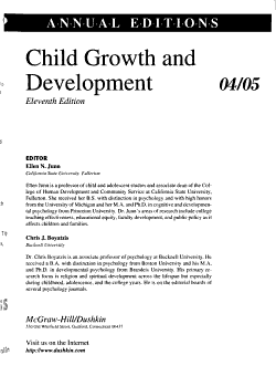 Child Growth and Development PDF