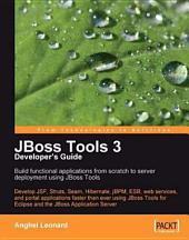 JBoss Tools 3 Developers Guide