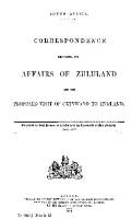 Correspondence Respecting Zululand     PDF