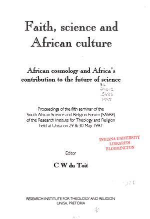 Faith  Science   African Culture PDF
