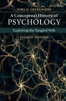 A Conceptual History of Psychology PDF