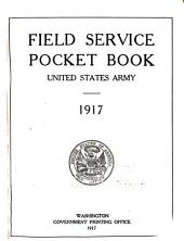 Field Service Pocket Book, United States Army, 1917