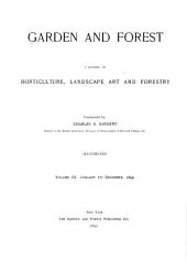 Garden and Forest: Volume 3