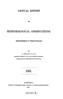 Annual Report on Meteorological Observations PDF
