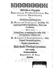 Dispvtationvm theologicarvm qvarto repetitarvm vndecima de iustitia & efficacia providentiæ Dei in malo,: quam ... præside ... Iacobo Arminio ...
