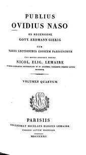 Publius Ovidius Naso: Volume 4