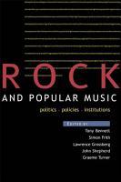 Rock and Popular Music PDF