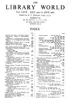 New Library World PDF