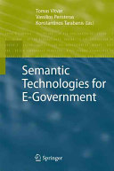 Semantic Technologies for E Government