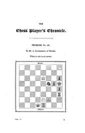 Chess Player's Chronicle: Volume 5
