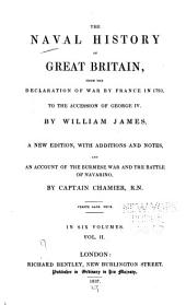 The Naval History of Great Britain: From the Declaration of War by France in 1793 to the Accession of George IV, Volume 2